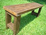 Rustic Wood Bench, Reclaimed Wood Bench