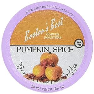 Boston's Best Single Serve Coffee, Pumpkin Spice,12.6 oz, 42 Count