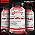 RoxyPhen The Best & Strongest Fat Burner Diet Pills Supplement for Energy, Weight Loss, Focus, Appetite Suppressant, Fat Metabolizer, Diuretic, Fat Blocker!