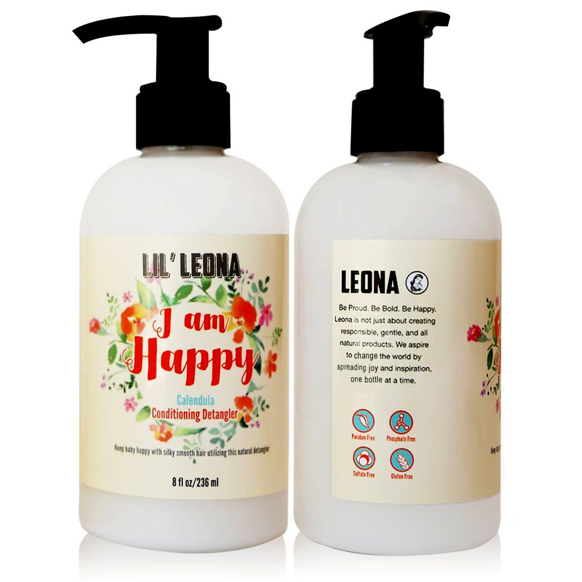 Childrens Hair Conditioner & Detangler by Lil Leona: Safe and Non-Toxic  Cleansing Conditioner