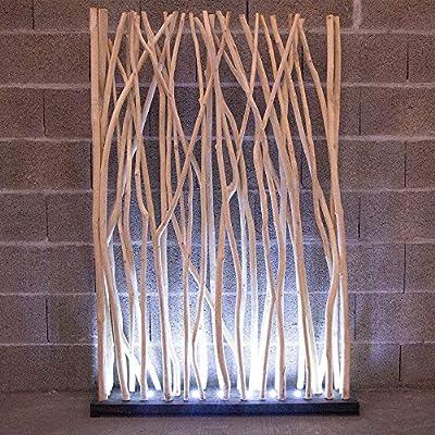 Atypik Home Biombo Luminoso LED de Madera (Soporte Blanco: Amazon.es: Hogar