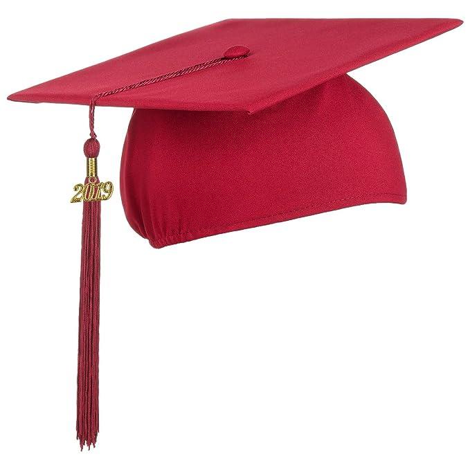 Birrete De Lierys Con Colgante 2019 Sombrero De Graduación Perfecto Para Celebrar El Fin De Estudios En La Universidad O El Instituto Sombrero