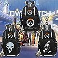 Game Bag Cosplay Tracer Reaper D.va Backpack Schoolbag Bookbag College Bag Handbag Shoulder Bags