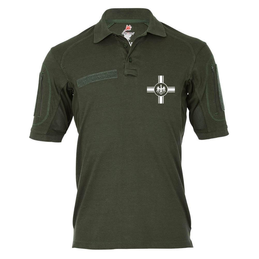 Tactical Poloshirt Alfa - Old Germany Preußen Balkenkreuz Kaiserreich  18987