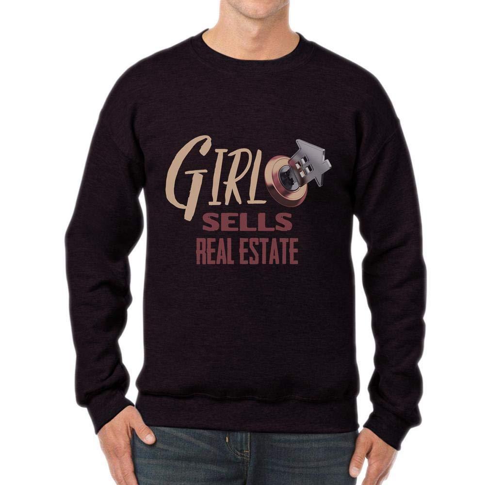 Girl Sells Real Estate Tshirt Female Realtor Unisex Sweatshirt tee