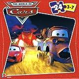 : Disney Pixar Cars 24 Piece Puzzle - Lightning McQueen, Mater, & Combine