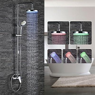 Homelody Columna de ducha Conjunto de ducha Sistema de ducha Set ...