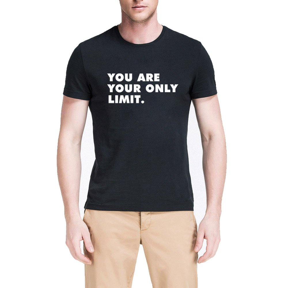 Loo Show You Are Your Only Limit Casual T Shirts Tee