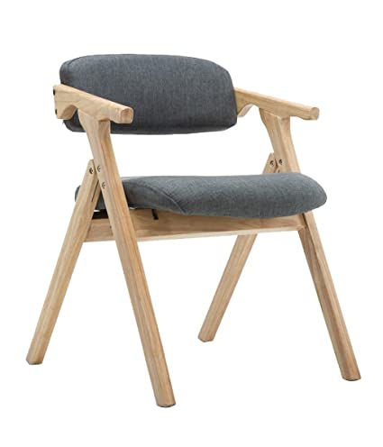 Amazon.com - Teng Peng Solid Wood Chair -Stylish Solid Wood Folding ...