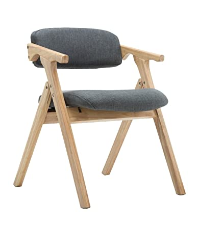 Amazon.com - GY Solid Wood Chair -Stylish Solid Wood Folding Chair ...