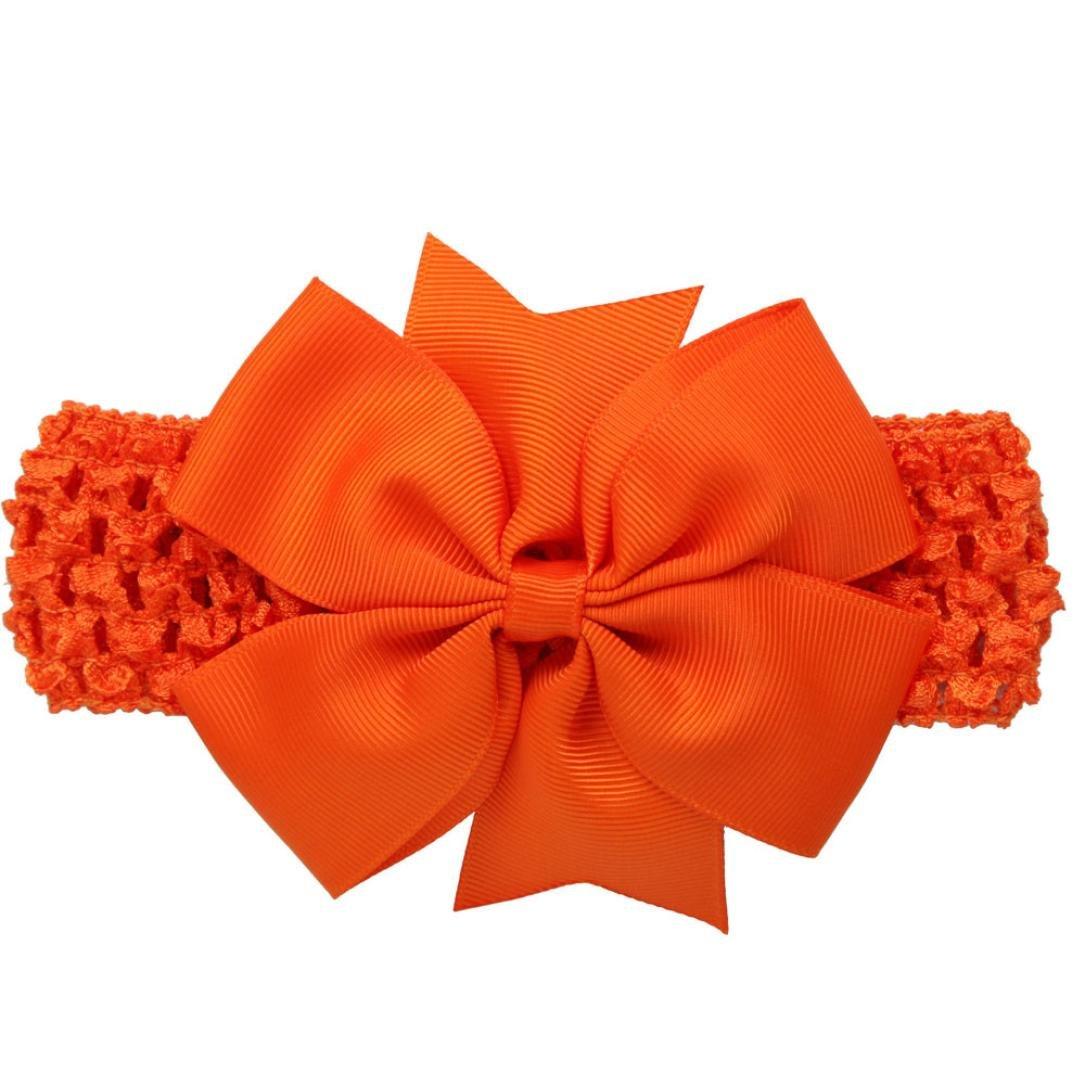 Diademas Bebé , ❤️Amlaiworld Diademas para niñas Accesorios para el cabello bowknot para niñas infantil Banda para el cabello (Caqui) Amlaiworld 2