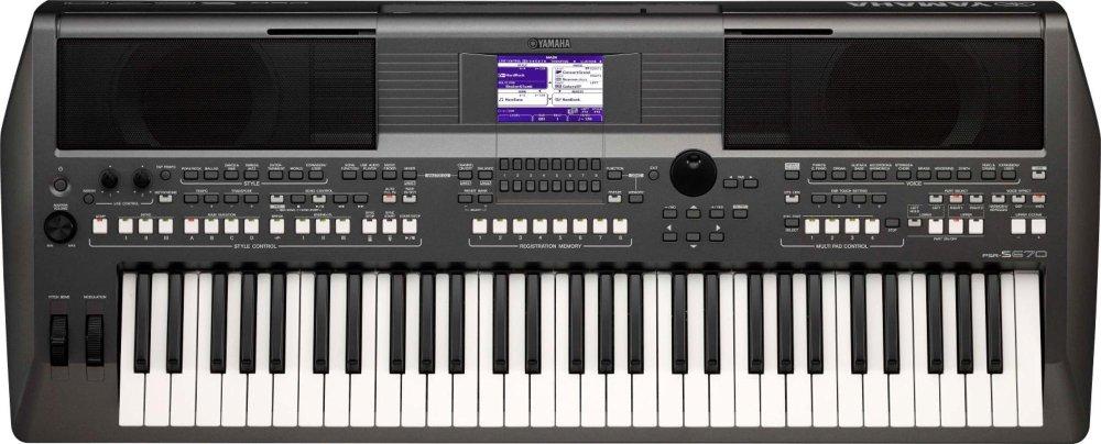 Yamaha PSR-S670 61-Key Arranger Workstation by YAMAHA