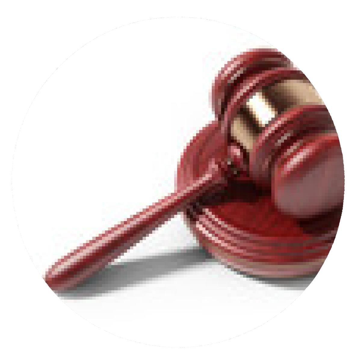 alfombrilla de ratón Martillo de madera. Concepto de la ley ...