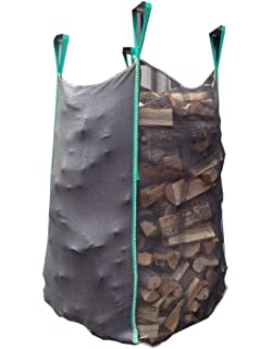 Sacconi big bag per legna 95x95x150 in tessuto a rete + geotessile 5pz. 80dcb68b6c89b