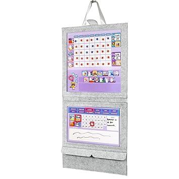 UMCD Tabla magnética de bolsillo para gráficos, tabla de ...