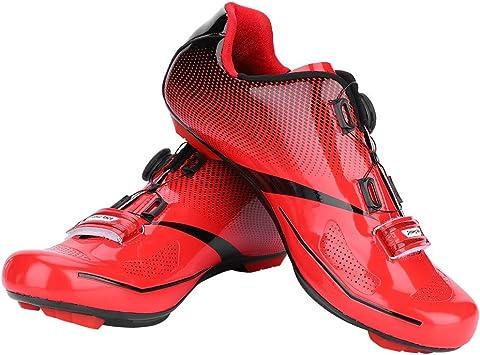 Dioche Zapatillas de Ciclismo para Hombre, Sistema de Bloqueo ...