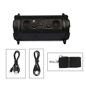 Altavoz Bluetooth, 15W LCD portátil inalámbrico Super Bass ...