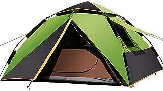 VATHJ Camping Tente Maison 3-4 Personnes UV Protection imperméable à l'eau Portable Tente instantanée