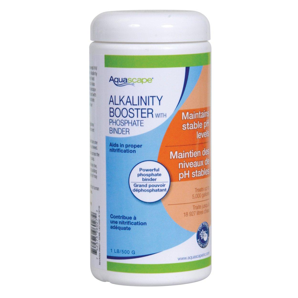 Aquascape 35139 alcalinità booster con fosfati, 500 g
