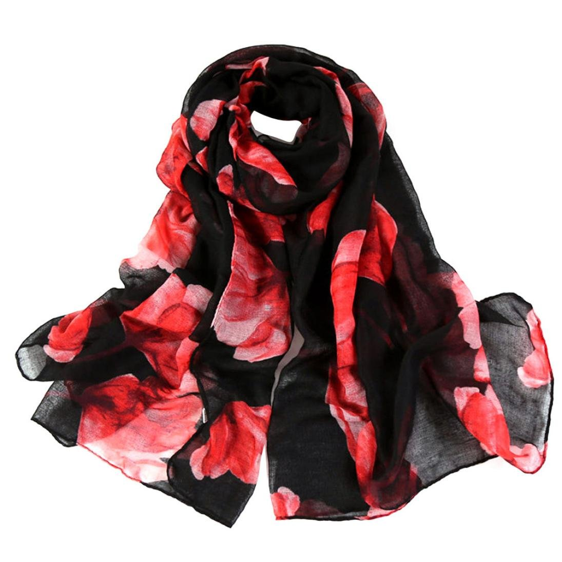 iHPH7 Lightweight Scarf, Fashion Women Long Soft Wrap Shawl Voile Scarf Scarves at Amazon Womens Clothing store: