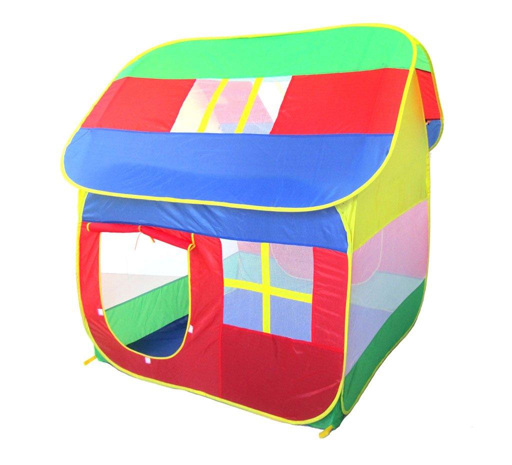 Kinderzelt, Indoor und Outdoor Große Spielhaus Spielzeug Zimmer Haus Modellierung Gefaltet Werden Können Marine Ball Pool Indoor Spielplatz 120  120  140 cm