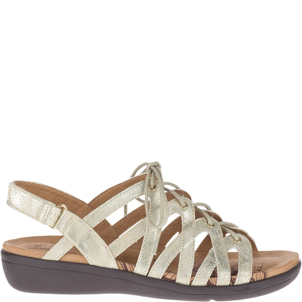 Soft Style by Hush Puppies Women's Paisley Sandal, Light Gold Eclipse, 08.0 W US by Soft Style (Image #1)