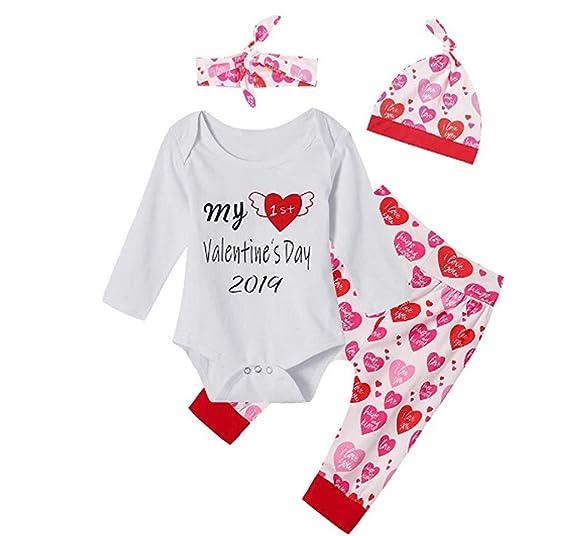 f5885467a Amazon.com  Clothful 💓 Newborn Infant Baby Boy Girl Letter Romper ...