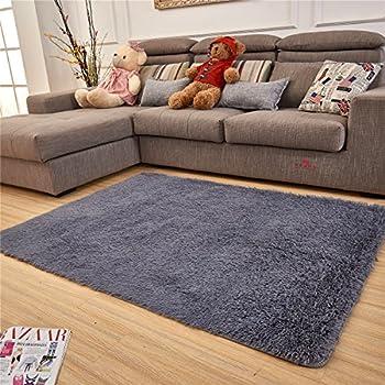 Amazon.com: Hoomy Living Room Carpet Soft Memory Foam Bedroom Area ...