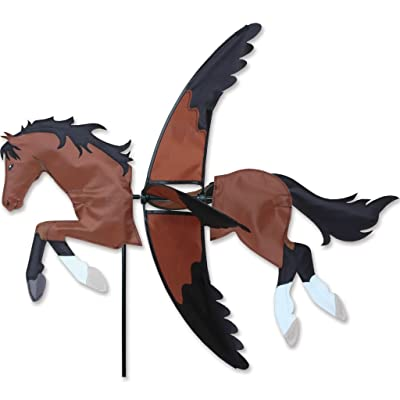 Premier Kites 27 in. Bay Horse Spinner : Garden & Outdoor