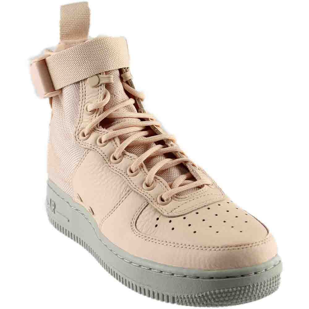 Nike Special Forces Air Force 1 Mid Women's Shoes Light Orange aa3966-800 (8 B(M) US)
