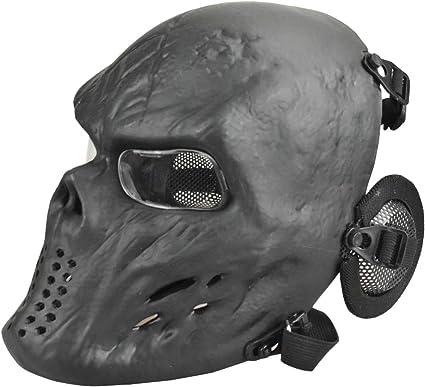 Skull Masks Zombie Airsoft Paintball Mens Boys Full Face Rave Masks