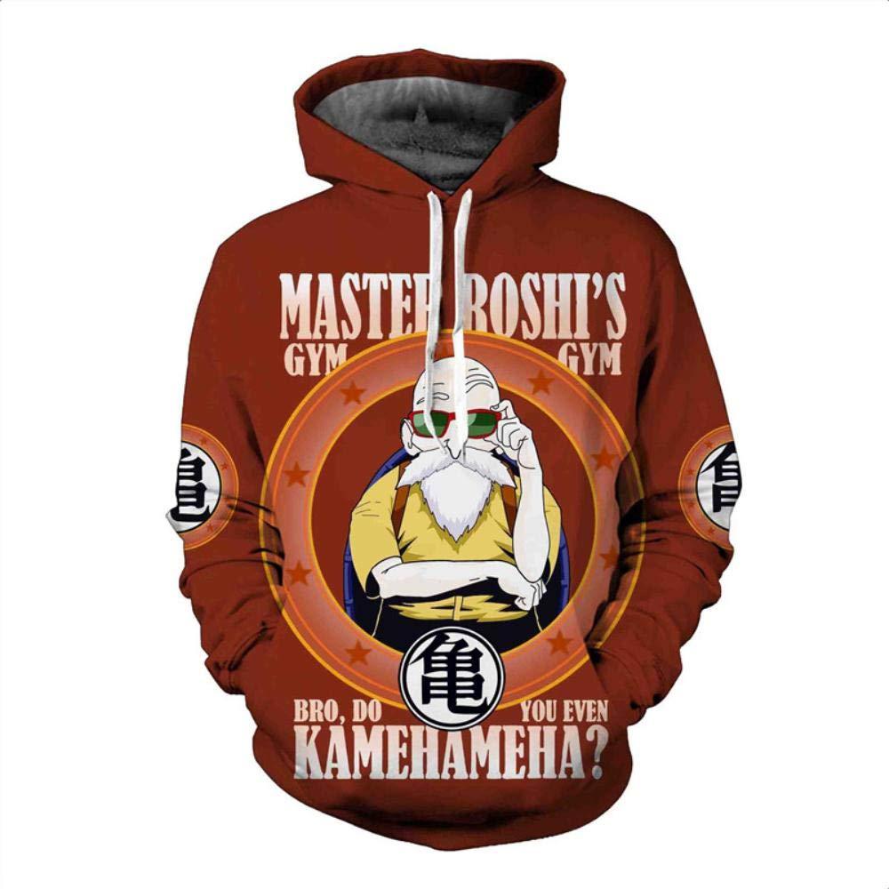 Amazon.com : HOOSHIRTA Mens Hooded Sweatshirt Dragon Ball Hoodie Sweatshirts 3D egeta Hoodies Homens Sweat Homme Sudaderas Con Capucha Hombre : Sports & ...