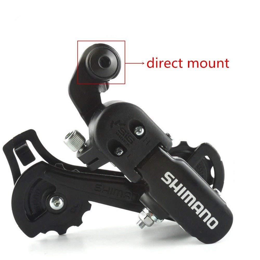 Shimano Rear Derailleur RD-TZ31 6/7 Speed Direct Mount For Mountain Bike by YAD