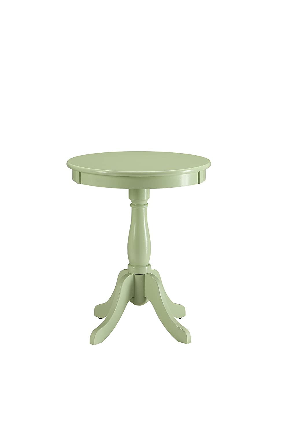 Acme Furniture 82810 Alger Side Table, Light Green, One Size