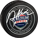 Duncan Keith Chicago Blackhawks Autographed 2016 Stadium Series Official Game Puck - Fanatics Authentic Certified