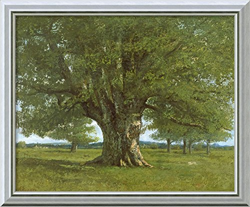The Oak of Flagey, called Vercingetorix' by Gustave Courbet