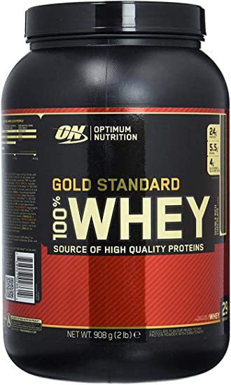 6d66e8a7a Image Unavailable. Image not available for. Color  Optimum Nutrition 100  Whey Protein Gold Standard Double Rich Chocolate 2 lbs.