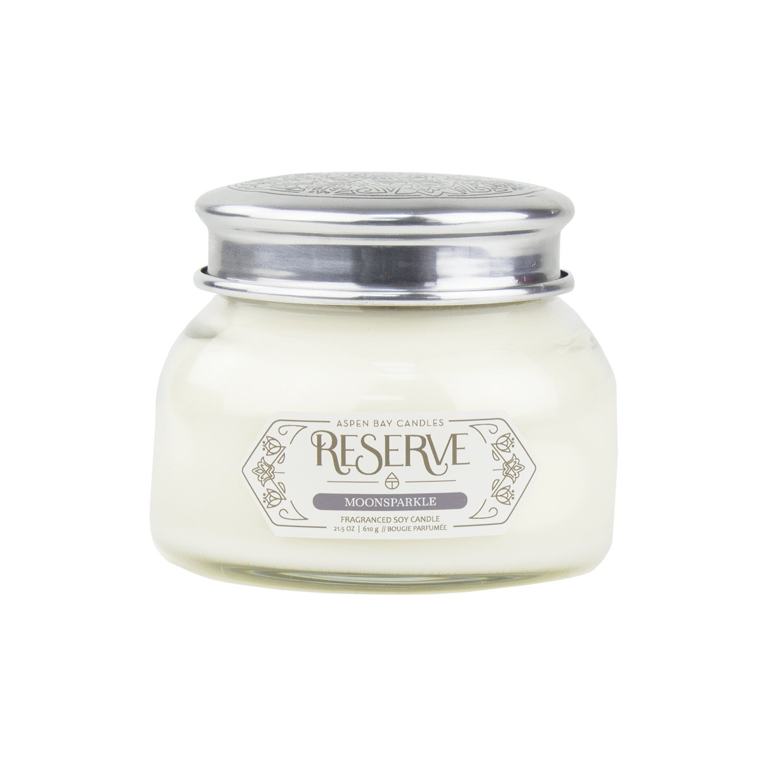 Moonsparkle Aspen Bay Reserve Collection 19 Ounce Signature Scented Jar Candle