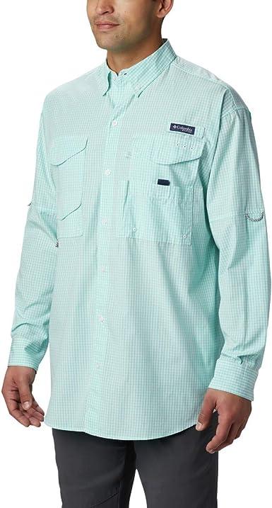Columbia Super Bonehead Classic - Camisa de Pesca de Manga Larga para Hombre