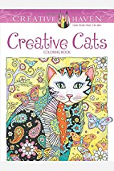 Creative Haven Creative Cats Coloring Book (Adult Coloring) Paperback