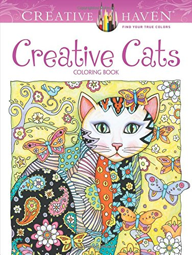 Creative Haven Cats Coloring Adult product image
