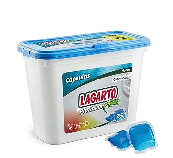 Lagarto Platinum Detergente para Lavadora en Capsulas, Compuesto, 15x12x19 cm