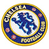 TIUK008 Chelsea England Shield Football Soccer Embroidered Patch Iron or Sew Size 3.15×3.15 in