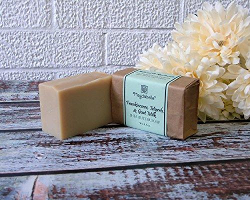 Frankincense, Myrrh, Tiger Herb & Goat Milk Shea Butter Soap