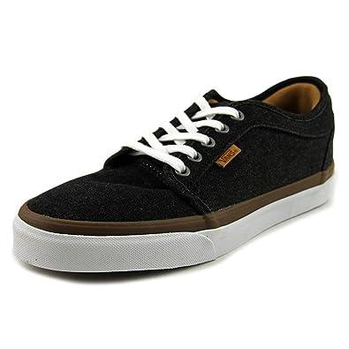 19a35dfa26 Vans Mens Chukka Low (Denim) Black White Skate Shoe (7 Men US