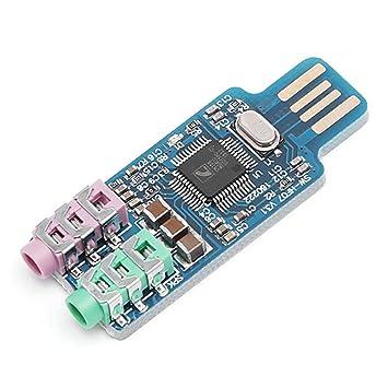 decaden CM108 Unidad USB Tarjeta de Sonido USB Gratis ...