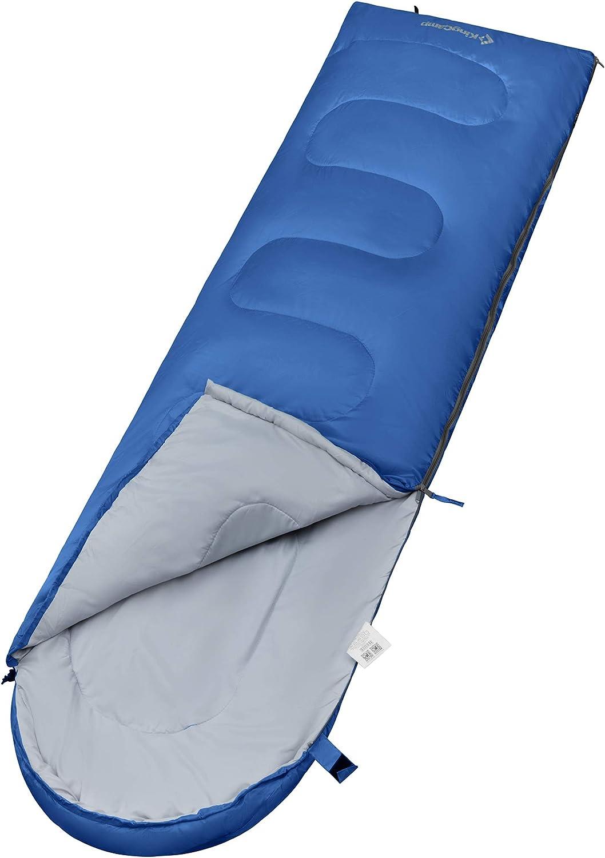 """Columbia Outdoor Camping Adulte Momie Sac De Couchage 40 degrés 33/"""" X 85/"""" Bleu Nouveau"""