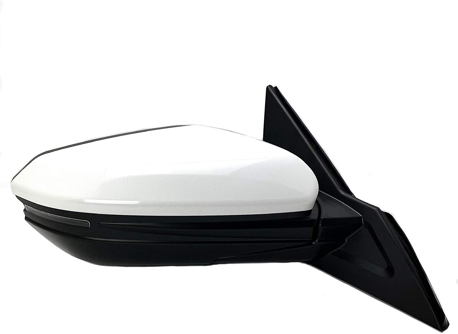 For 01-05 Civic 2DR Zero Style Manual Blue White LED Signal Side Mirror