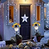 Solar Christmas Decorations Outdoor - 2 Pack