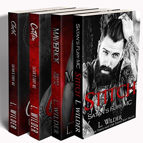 Satan's Fury MC Boxed Set: Books 1-4